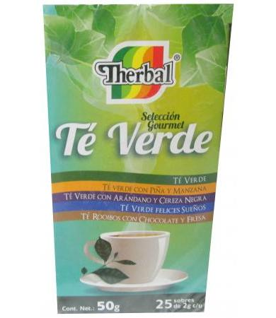 TE VERDE THERBAL 20 SOBRES