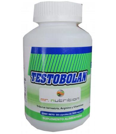 TESTOBOLAN 50 CAPS 500 MG MR. NUTRITION