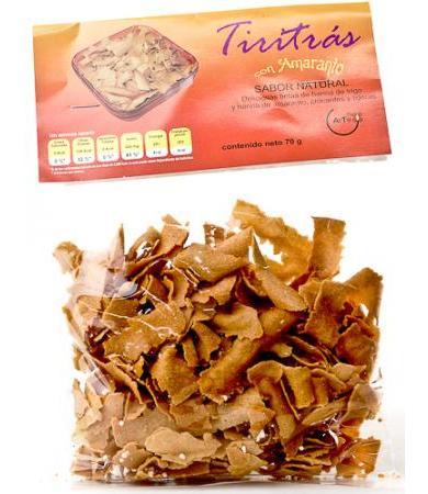 TIRITRAS SABOR NATURAL  70 G
