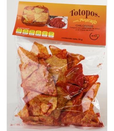 TOTOPOS CHILOSITOS     70 G