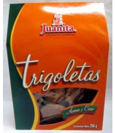 TRIGOLETA AVENA Y COCO 250 G JUANITA