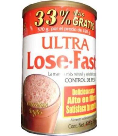 ULTRA LOSE FAST MALT CHOCOLATE 570 G ALLNAT NUTRITION
