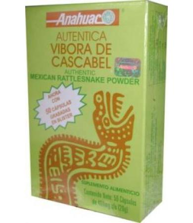 VIBORA DE CASCABEL 50 CAP ANAHUAC