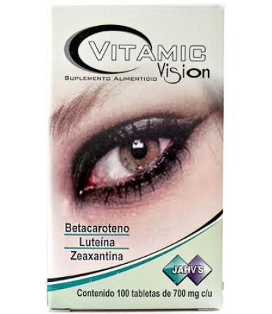 VITAMIC VISION 100 TAB JAHVS LC