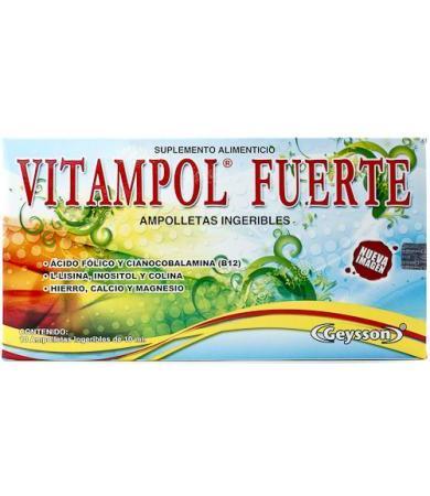 VITAMPOL FUERTE AMPOLLETA 10X10 GN + VIDA