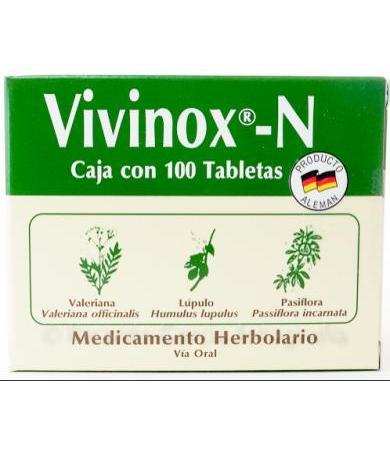 VIVINOX CON 100 GRAGEAS BOMUCA
