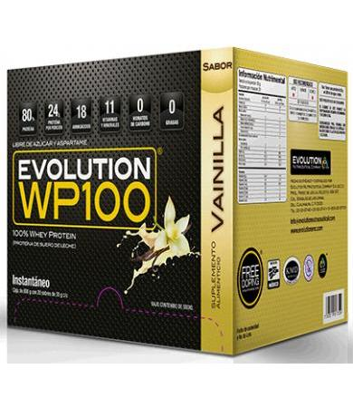 WP100 SABOR VAINILLA 32.8 G EVOLUTION P 20