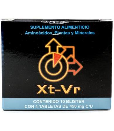 XTRA VIRIL (XT-VR)  BLISTER CON 4 TABLETAS