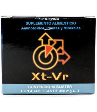 XTRA VIRIL 4 TABLETAS XT-VR