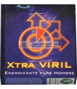 XTRA VIRIL BLISTER CON 4 TABLETAS ENERGIZANTE PARA HOMBRE