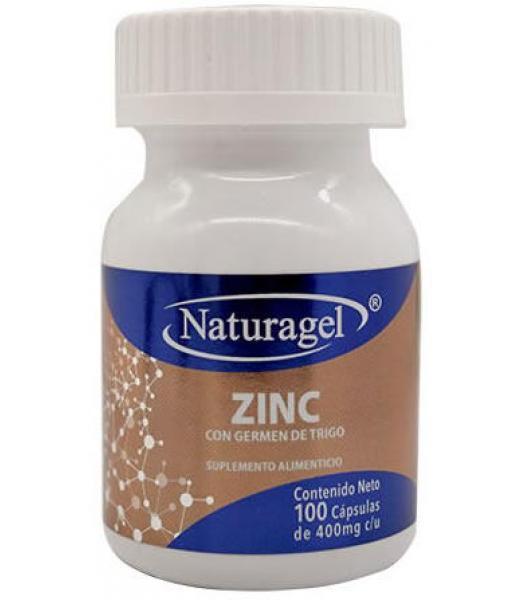 ZINC 100 CAP NATURAGEL