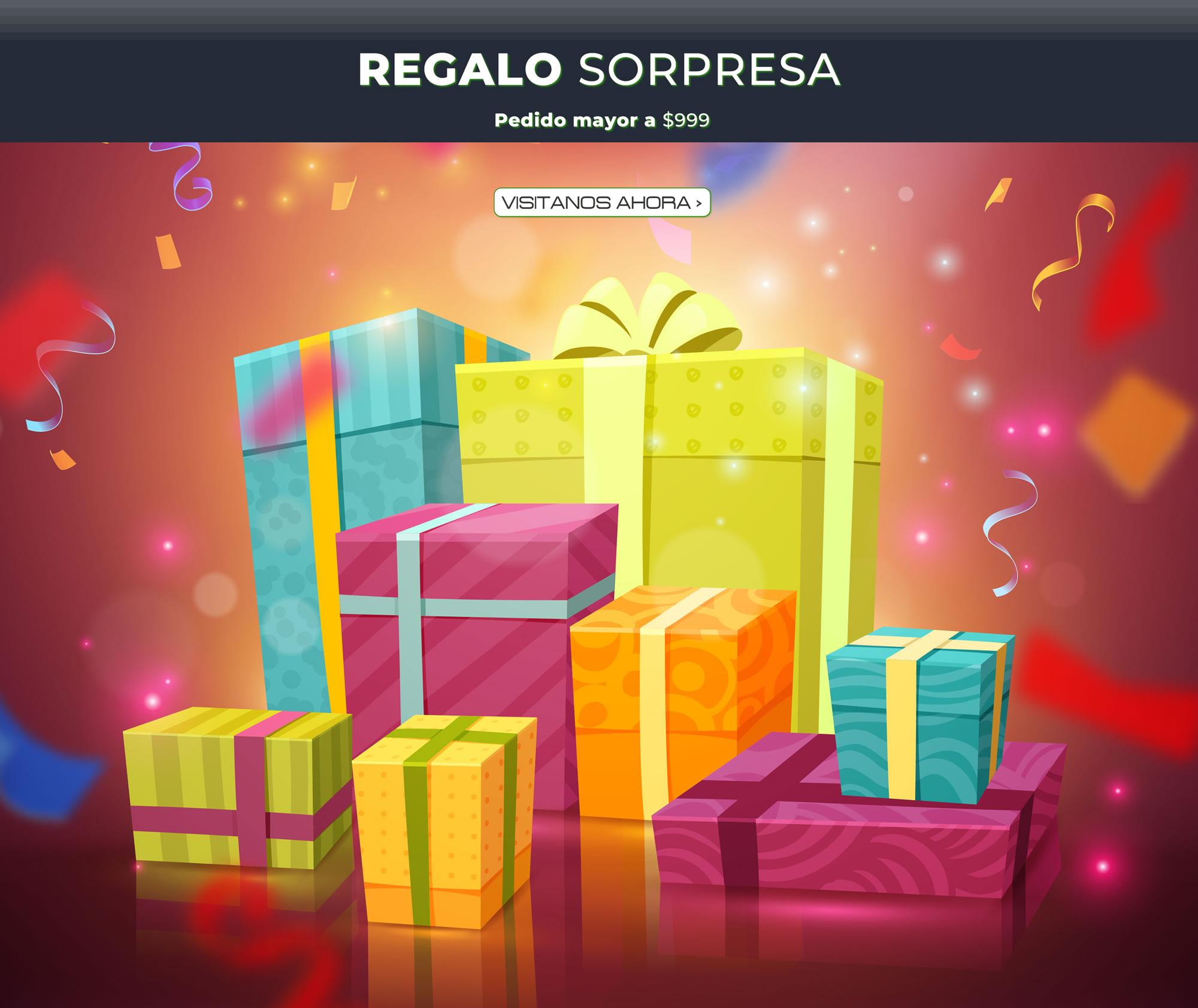 regalo sorpresa